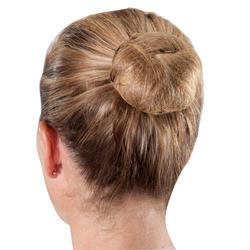 Trousse chignon blond