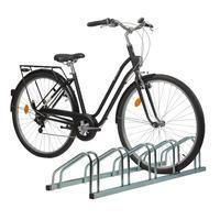 5 dviračių stovas