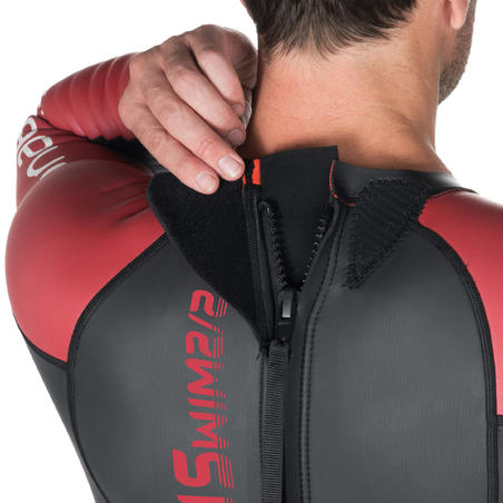 Men's Open Water Swimming 2/2 mm Neoprene Glideskin Wetsuit OWS