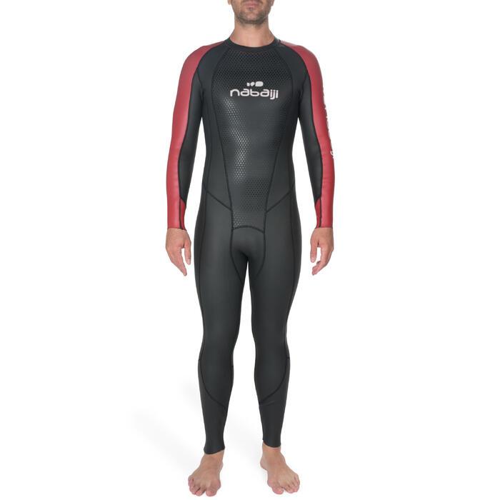 Combinaison natation néoprène OWS 500 2,5/2mm homme eau tempérée - 1227988