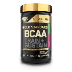 Aminozuren BCAA train & sustain aardbei-kiwi 266 g