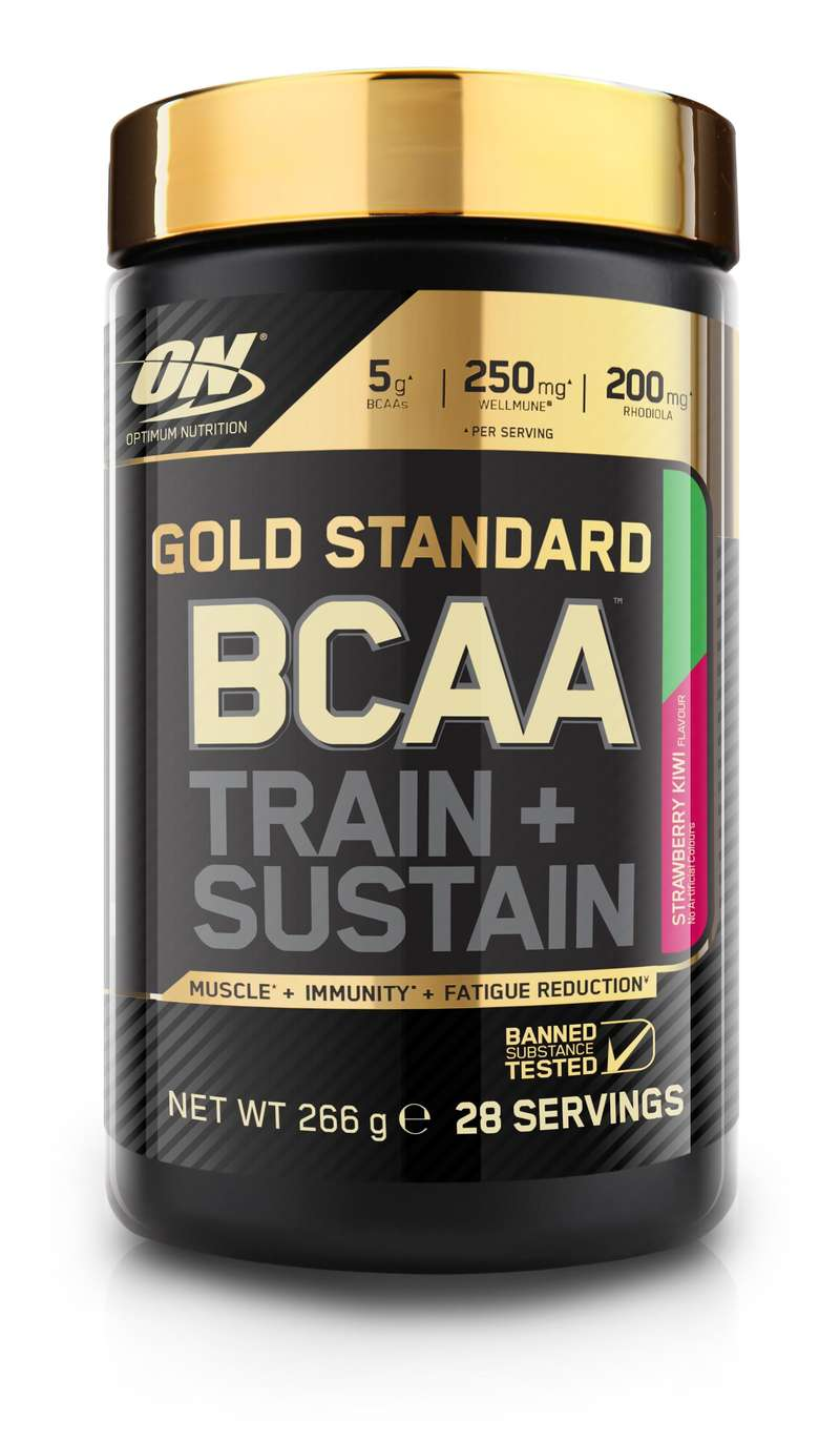 PROTEINS AND SUPPLEMENTS Supplements - Optimum BCAA Strawberry-Kiwi OPTIMUM NUTRITION - Nutrition and Body Care