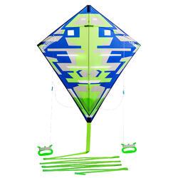 Lenkdrachen 2-in-1 lenkbar und statisch Izypilot 100 grün
