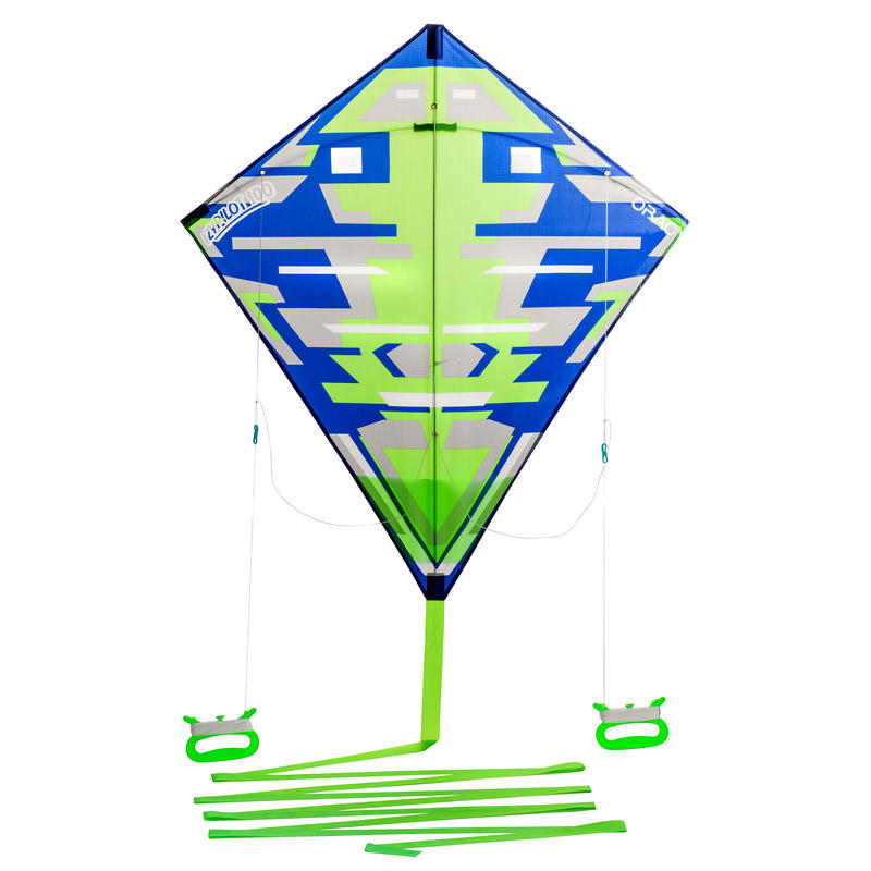 Stunt + Static Kite IZYPILOT 100 - Green