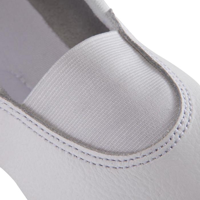 Gymnastikschuhe 520 RSG Kunstturnen Leder weiß