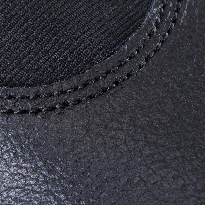 Chausson de Gymnastique Artistique en cuir 520 noir. - 1228053