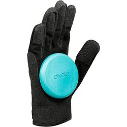 Longboard-Handschuhe Team schwarz