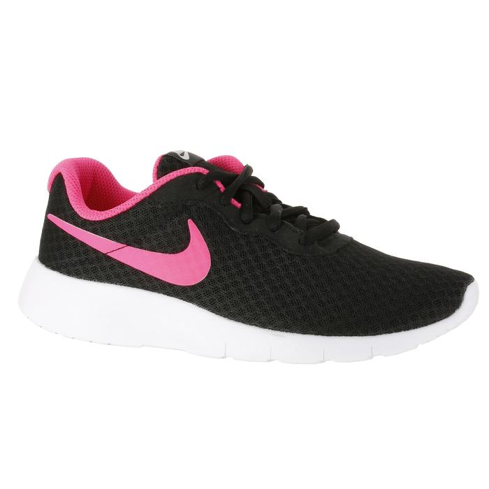 Chaussures marche sportive enfant Tanjun noir / rose - 1228121
