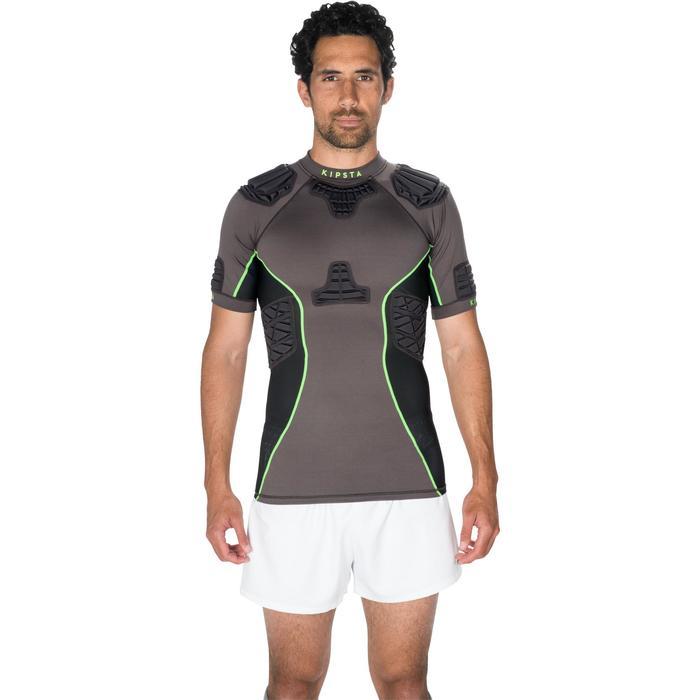 Épaulière rugby adulte Full H 900 gris vert - 1228128