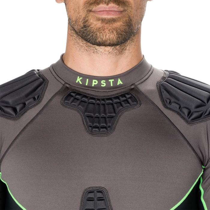Adult Rugby Shoulder Pad 900 - Grey/Green