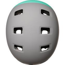 Helm voor skeeleren, skateboarden, steppen MH 540 munt grijs
