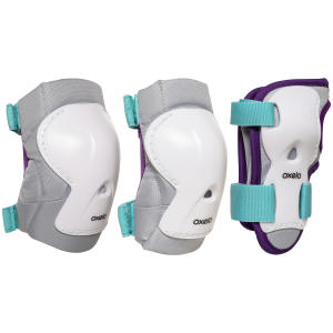 protections pads play turquoise
