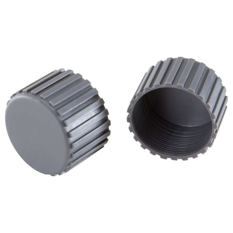 PLASTIC VE-VM-VA BIKE Fitness and Gym - Foot End Caps Twin-Pack DOMYOS - Gym Equipment Repair