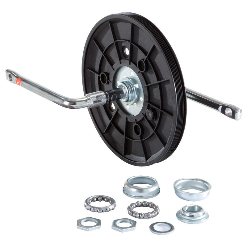 TRANSMISSION BIKE VE-VM-VA Fitness and Gym - One-Piece Pedal Axle DOMYOS - Gym Equipment Repair