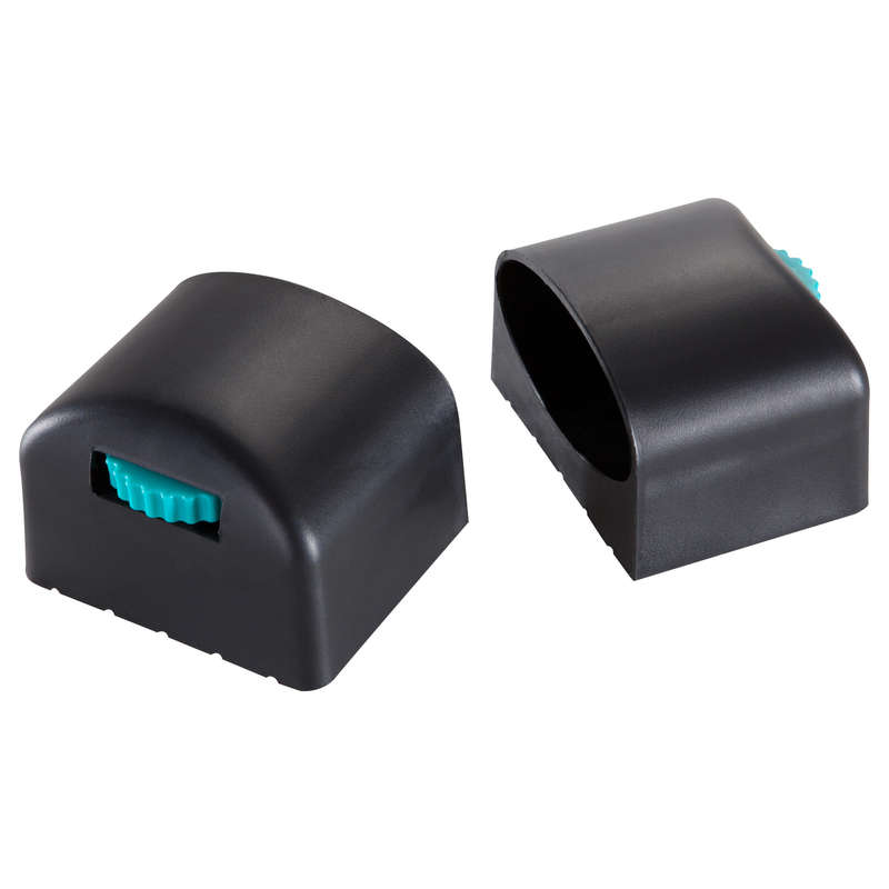 PLASTIC VE-VM-VA BIKE Fitness and Gym - Foot End Caps Twin-Pack DOMYOS - Gym Equipment Repair