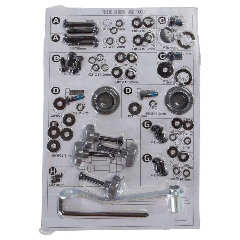 STRUCTURE METAL/SCREW VE-VM-VA BIKE Fitness and Gym - Screws Kit DOMYOS - Gym Equipment Repair