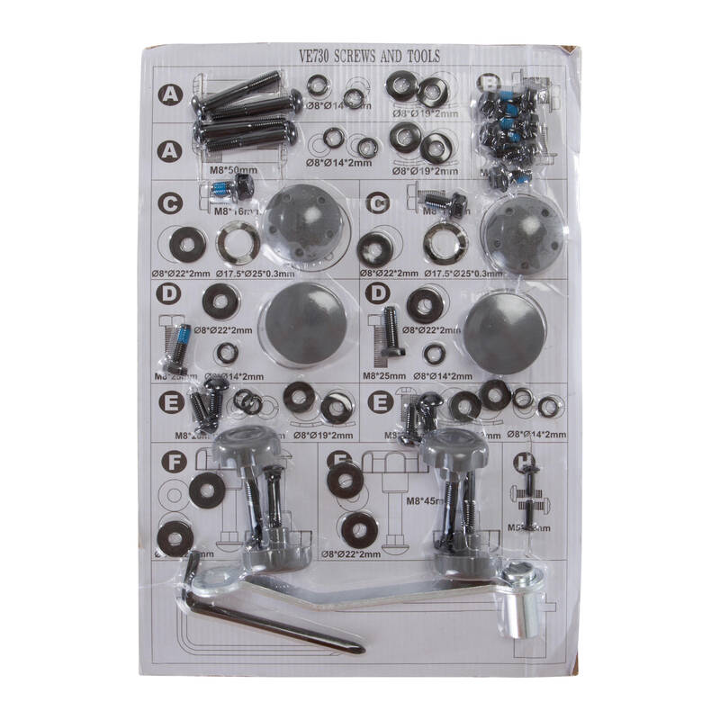 Servis kardio přístrojů - SADA ŠROUBŮ DOMYOS