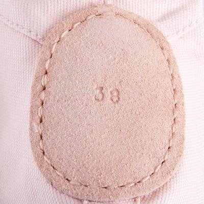 Split-Sole Canvas Demi-Pointe Shoes - Salmon Pink