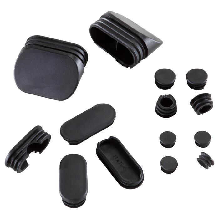 Set plastic doppen