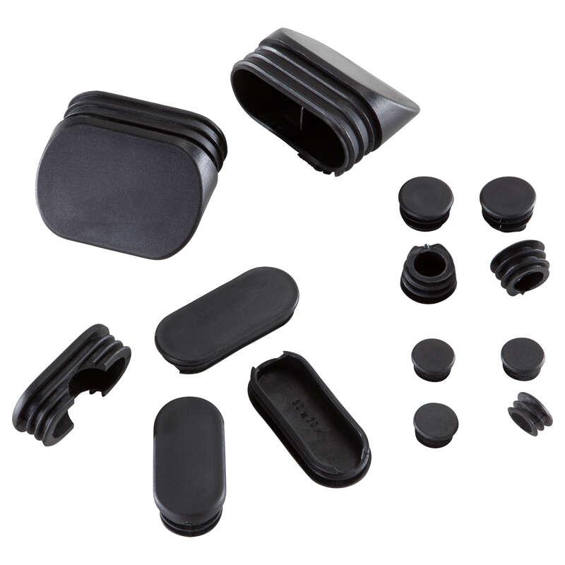 TAPPI DI PLASTICA BODYBUILDING Fitness - Kit punte plastica DOMYOS - Attrezzi palestra