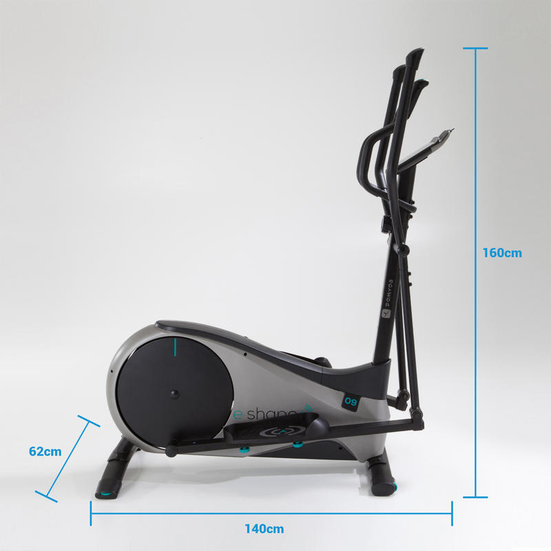 E Shape+ Cross Trainer Compatible with the Domyos E-Connected App