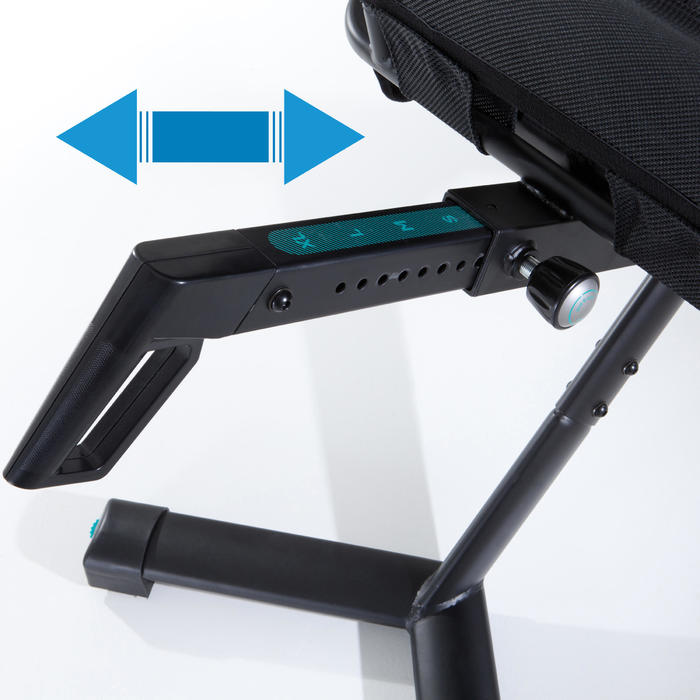 Hometrainer zithouding E SEAT, compatibel met de app E Connected*