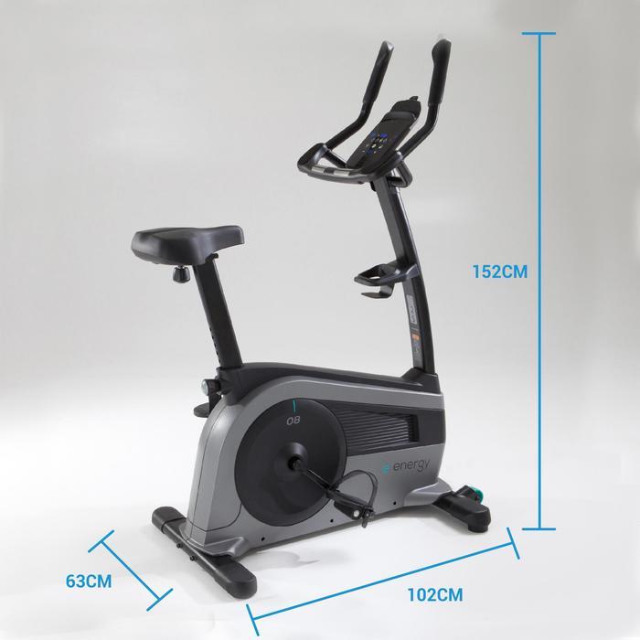Vélo d'appartement E ENERGY, compatible application Domyos Econnected