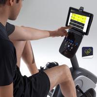 Semi-Recumbent Exercise Bike Seat