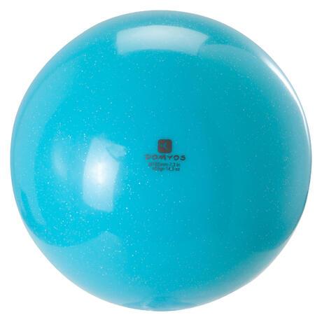 ballon de gymnastique rythmique gr 185 mm paillettes turquoise domyos by decathlon. Black Bedroom Furniture Sets. Home Design Ideas