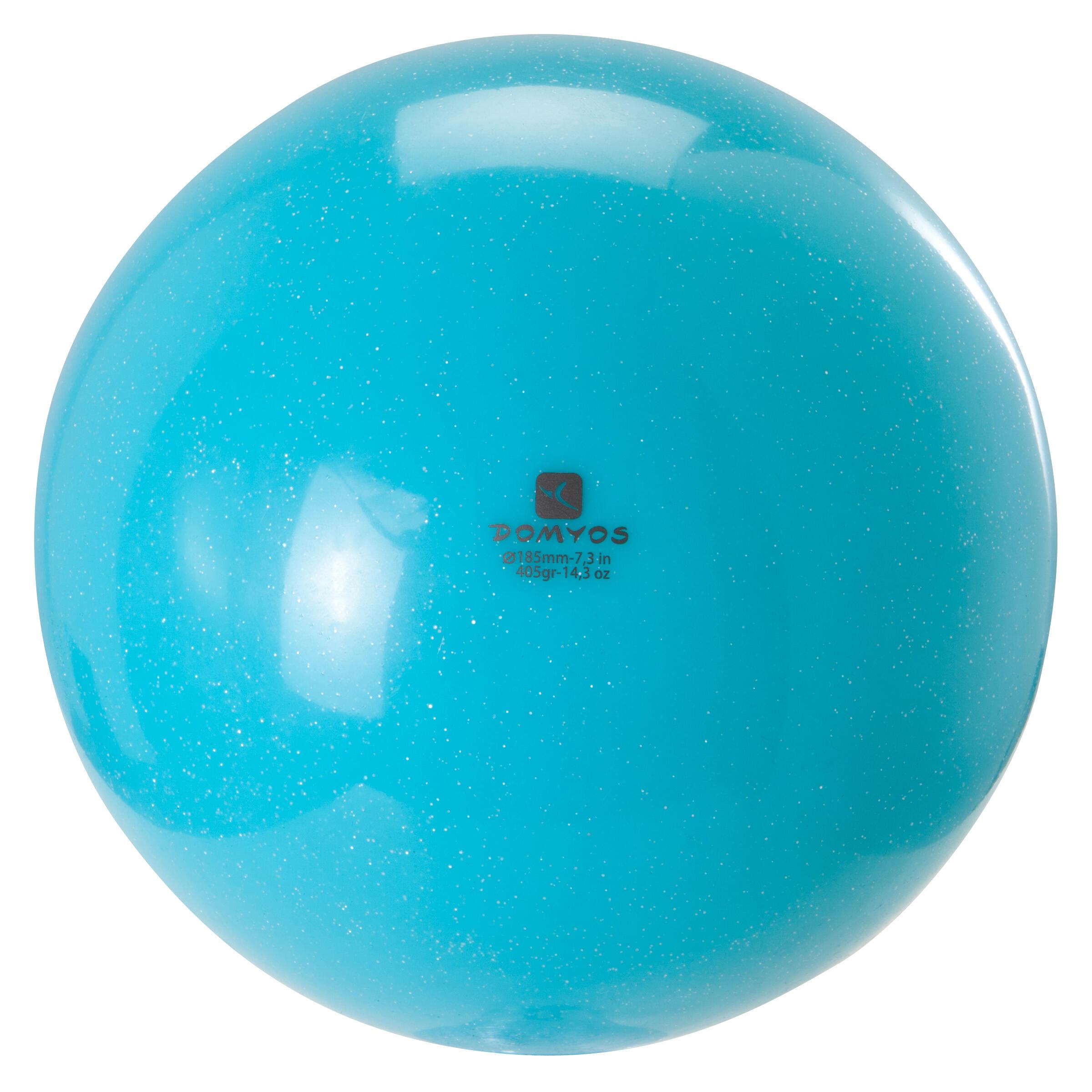 Domyos Bal voor ritmische gymnastiek 185 mm lovertjes