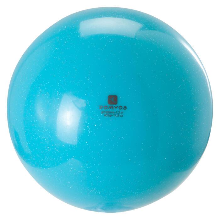 Ballon de Gymnastique Rythmique (GR) 185 mm paillettes - 1228894