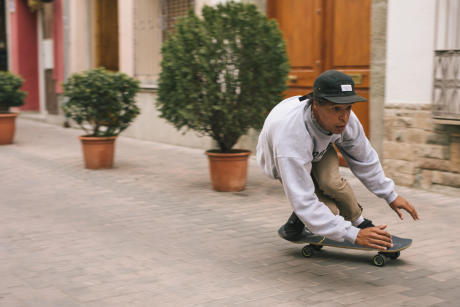 Cruising skate