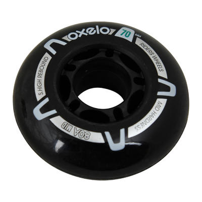 Roues roller Fitness enfant 4 ROUES 70MM 80A
