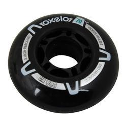 兒童健身直排輪70 mm 80A輪子4入組