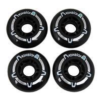 Kids' Fitness Inline Skate 70 mm 80A Wheels 4-Pack
