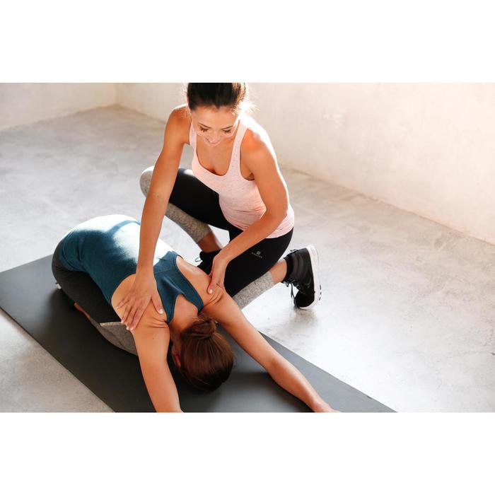 Top 500 Pilates sanfte Gymnastik Damen schwarz