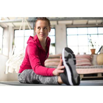 Veste capuche zippée Gym & Pilates femme - 1229567