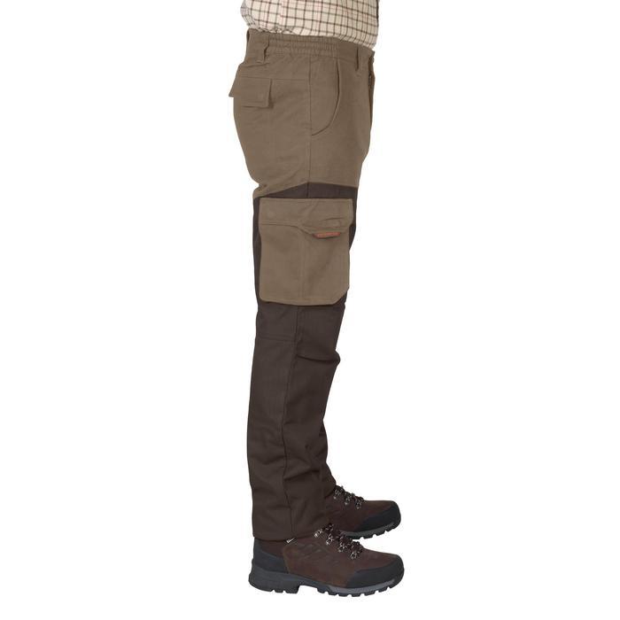 Jagersbroek Renfort 520 tweekleurig bruin