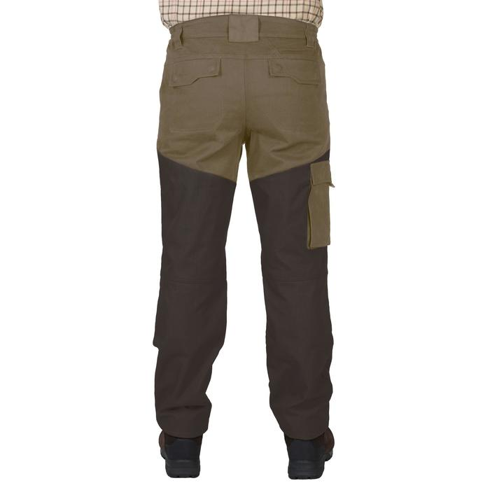 PANTALON chasse RENFORT 520 BIcolore -MARRON - 1229576