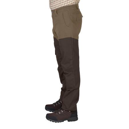PANTALON de chasse RENFORT 520 Bicolore -MARRON