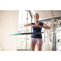 Verzwaarde hoepel voor pilates/figuurtraining 1,4 kg