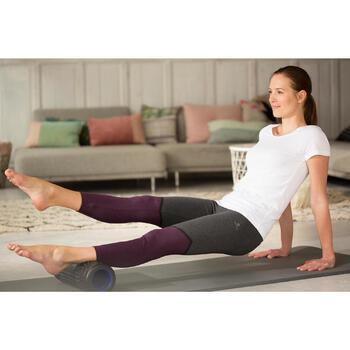 Legging 7/8 FIT+ 500 slim Gym & Pilates femme noir - 1229623
