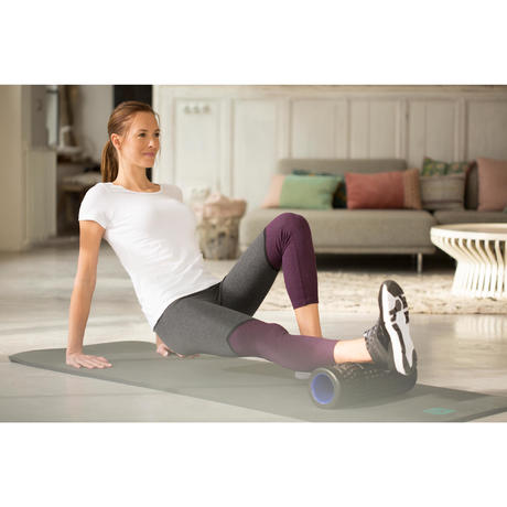 T-shirt de Pilates e Ginástica Suave 100% Algodão Mulher Sportee 100 Branco c9a23f14bad