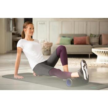 Dames T-shirt Sportee 100 100% katoen pilates of lichte gym wit