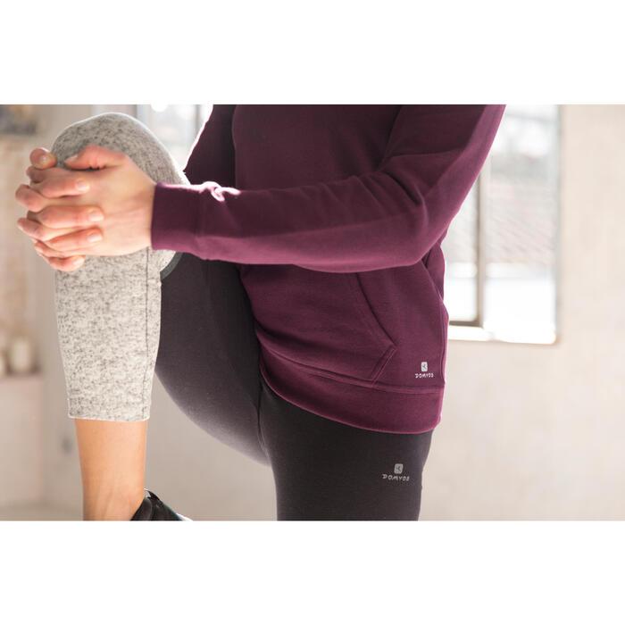 Legging 7/8 FIT+ 500 slim Gym & Pilates femme noir - 1229637