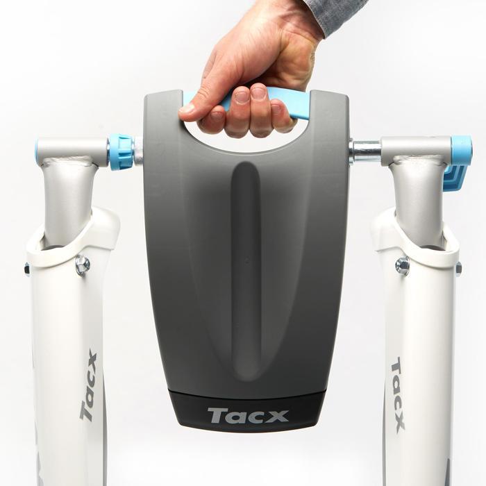Rodillo de Entrenamiento Tacx Flow Smart Gris Claro