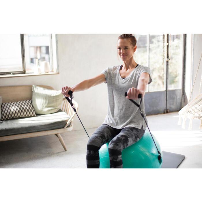 Dameslegging voor gym en pilates, slim fit - 1229847