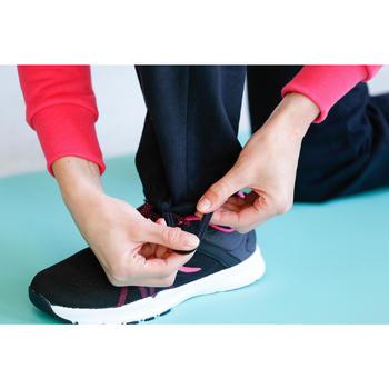Veste 500 Gym & Pilates femme sans capuche zippée - 1229848