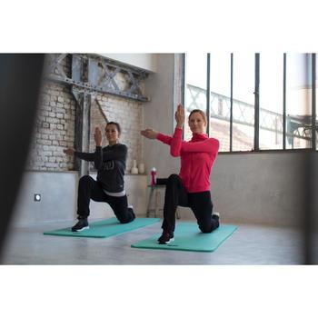 Veste 500 Gym & Pilates femme sans capuche zippée - 1229862