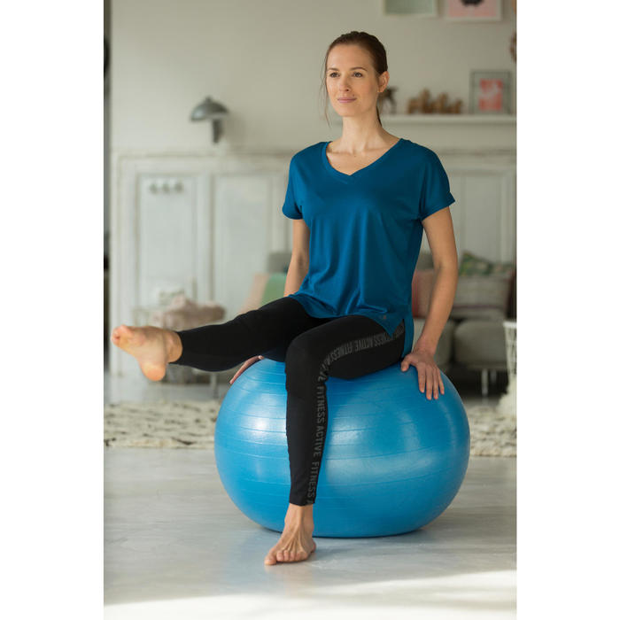 259a00811db FITBALL SWISS BALL GIMNASIA PILATES DOMYOS AZUL MEDIUM Domyos | Decathlon